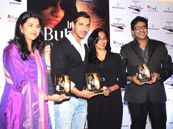 Bubble Of Time Book Launched by John Abraham