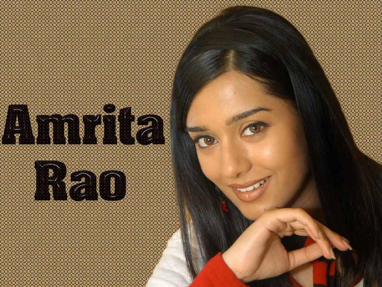 Budding Actress Amrita Rao Still