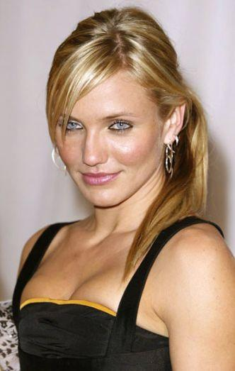 Cameron Diaz Open Boob And Glamour Look