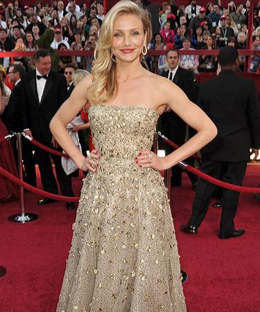Cameron Diaz at Oscars 2010