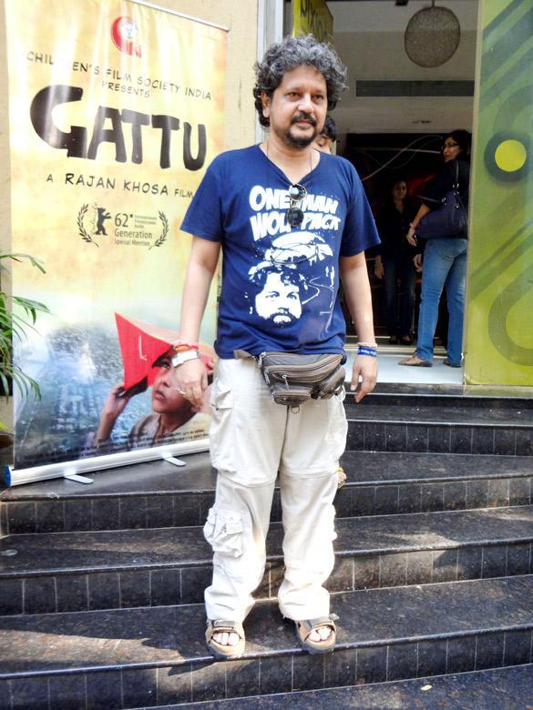 Celeb at Special Screening Of Gattu at Pixion