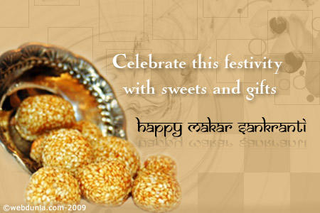 Celebrate Makara Sankranti With Sweets and Gifts