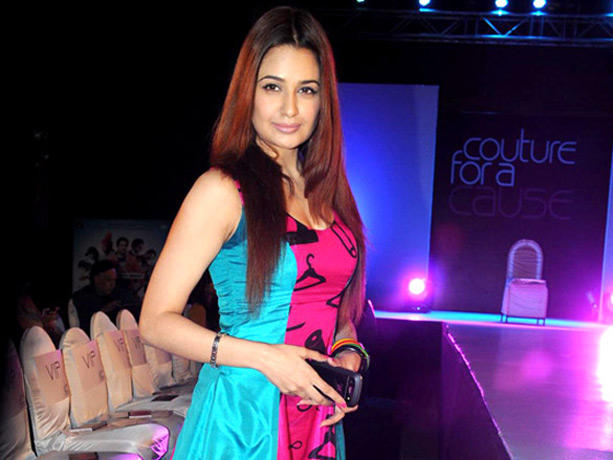 Celebs Walk Ramp at Couture for Cause Fashion Show in ITC Maratha