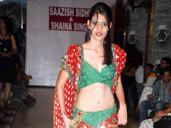 Celebs at  Designer Saazish Sidhu and Shaina Singhs debut bridal show