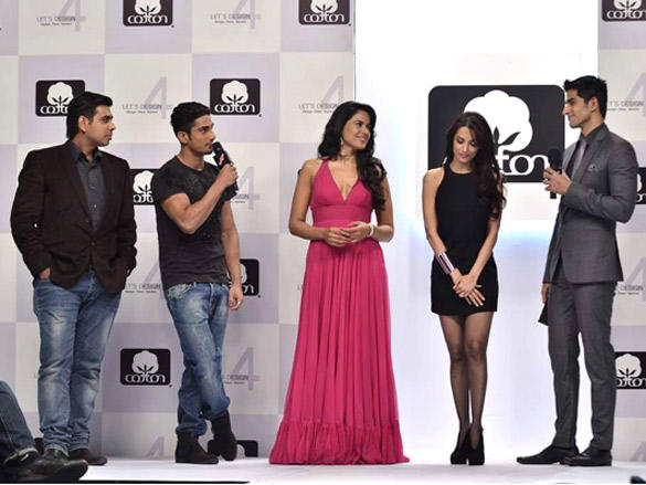 Celebs at Cotton Council of India's Lets Design contest