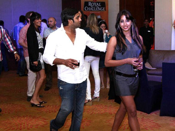 Celebs at Cricket League  party in Vizag