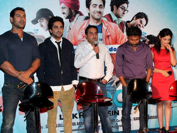 Celebs at First Look Launch of Vicky Donor