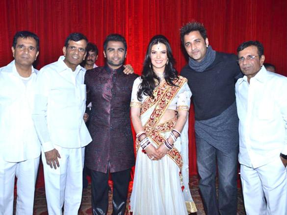 Celebs at Sachin Joshi and Urvashi Sharma's wedding reception