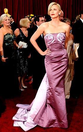 Charlize Theron at Oscars 2010