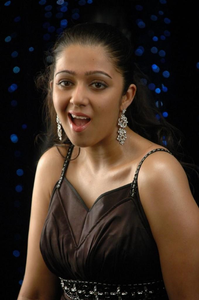 Charmi Kaur Face Cute Look Pic