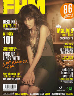 Chitrangada Singh Hot FHM India Photo shoot