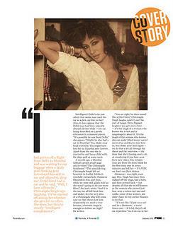 Chitrangada Singh at FHM India Photo shoot
