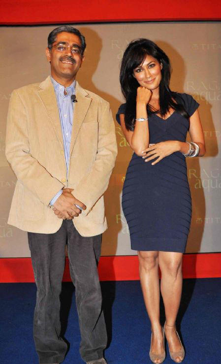 Chitrangada Singh At Launch of Titan Raga Aqua Watch