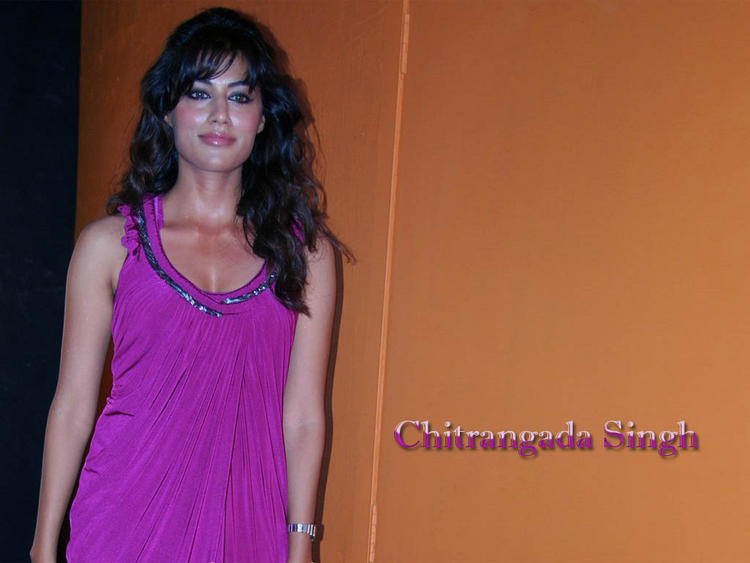 Chitrangada Singh in Sexy Purple