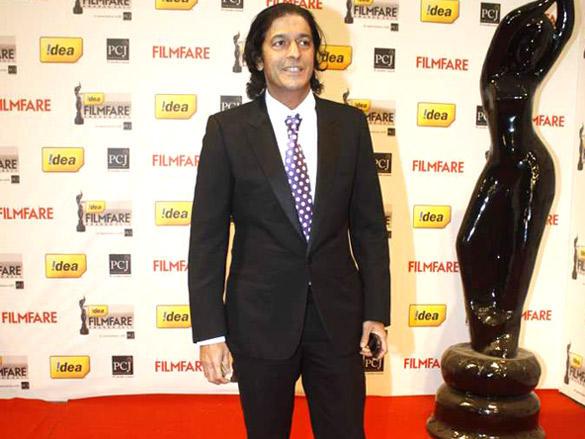 Chunky Pandey at 57th Idea Filmfare Awards