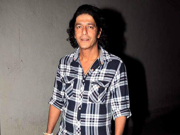 Chunky Pandey at Agneepath special screening