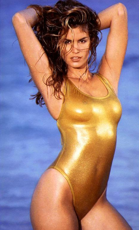 Cindy Crawford Swimsuit Hot Sexy Still