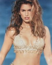 Cindy Crawford Wet Bikini Hot Photo Shoot