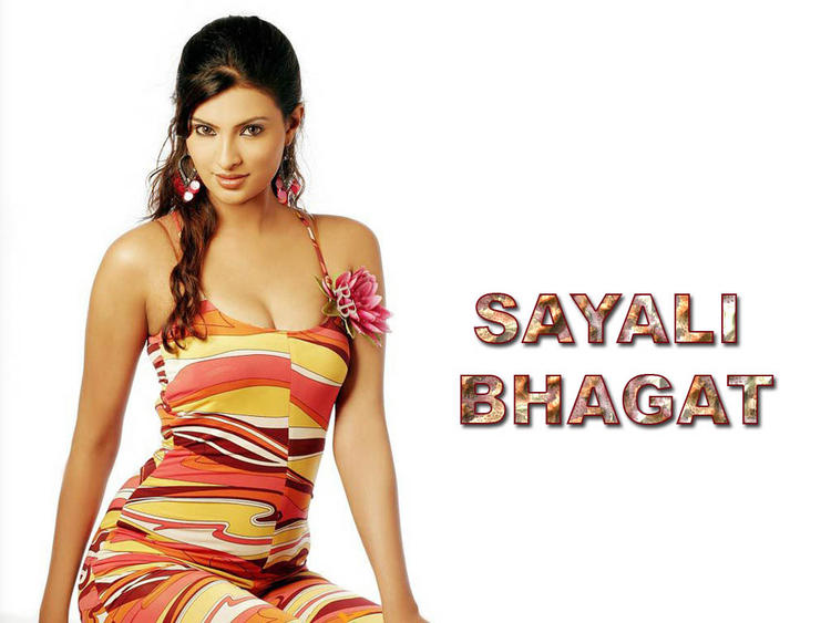 Colourful Sayali Bhagat