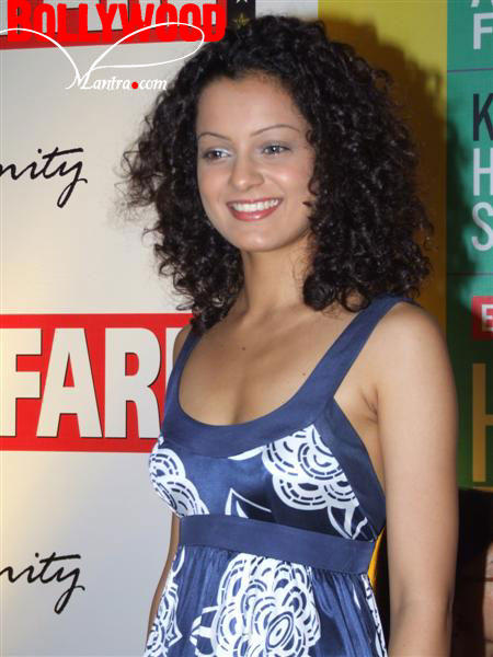 Curly Hair Beauty Kangana Ranaut Still