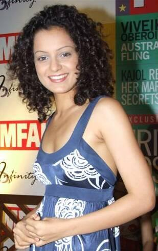Curly Hair Beauty Kangana Ranuat Still