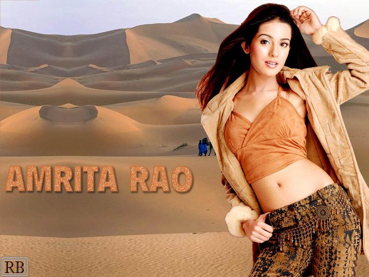 Cute Beauty Amrita Rao Photo