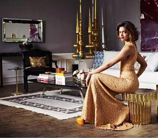 Deepika Padukone Amazing Dress Awesome Look For Architectural Digest