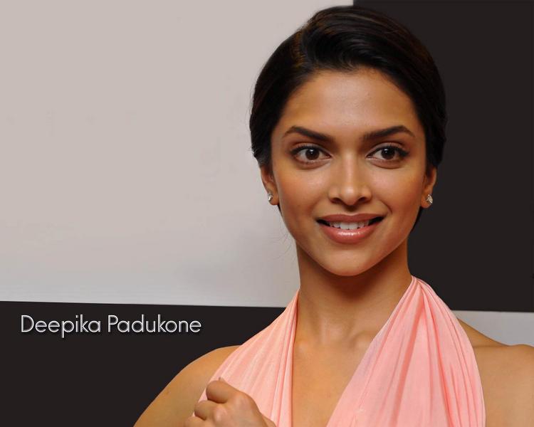 Deepika Padukone Formal Hair Style Wallpaper