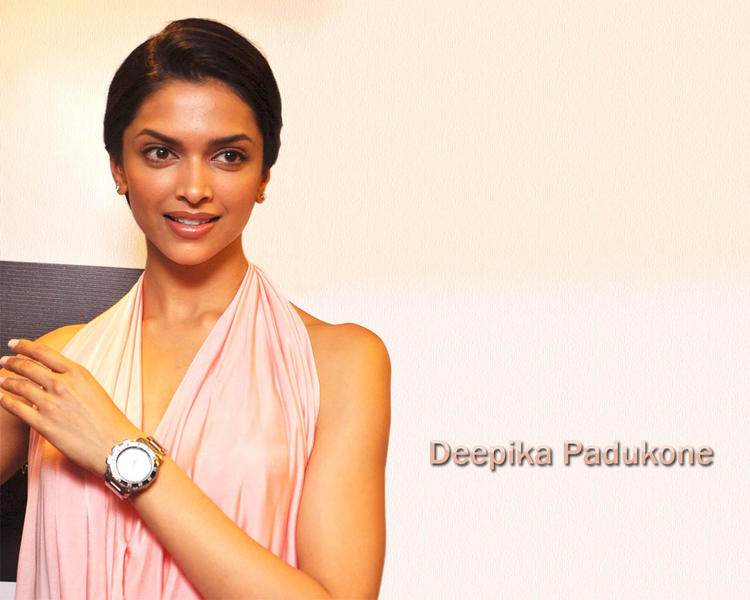 Deepika Padukone Formal Hair Style Wallpaper