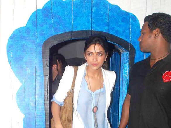 Deepika Padukone Spoted At Bosco Caesar Party