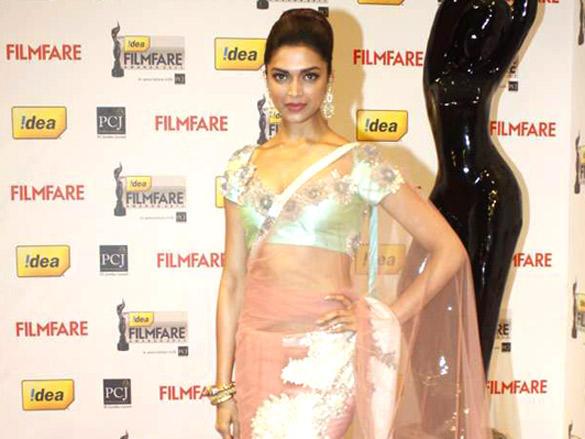 Deepika Padukone at 57th Idea Filmfare Awards