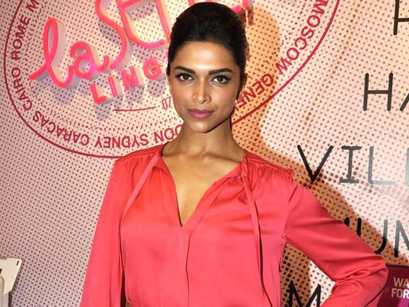 Deepika Padukone poses photo shoot