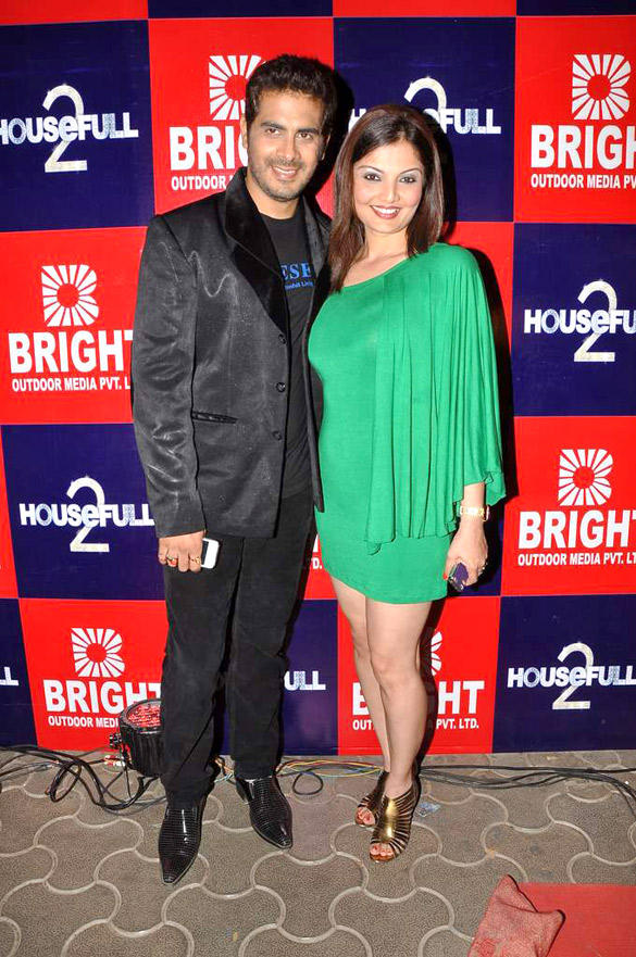 Deepshikha,Kaishav Arora at Special screening of Housefull 2
