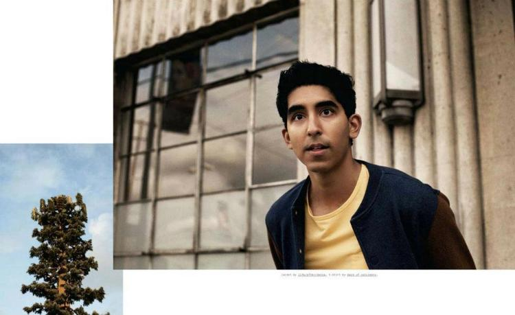 Dev Patel Photographed in Downtown LA for Nylon Guys April 2012