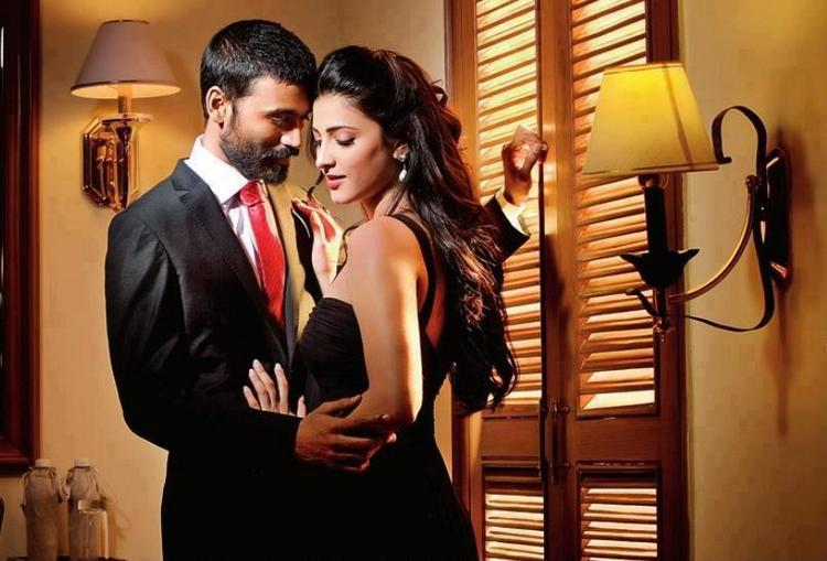 Dhanush,Shruti Hassan Hot Photo Shoot
