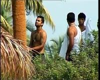 Dhoni and Kohli Goa Beach Photo