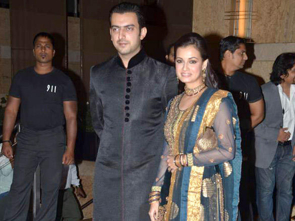 Dia At Honey Bhagnani's Sangeet ceremony