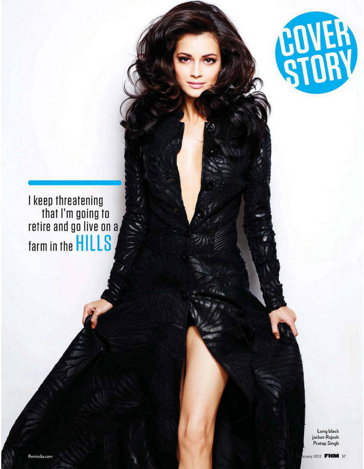 Dia Mirza FHM magazine sexy photoshoot