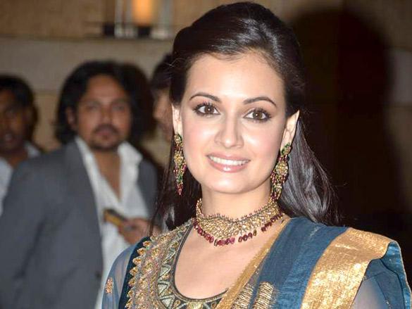 Dia looks glamourous at Honey Bhagnani's Sangeet  ceremony