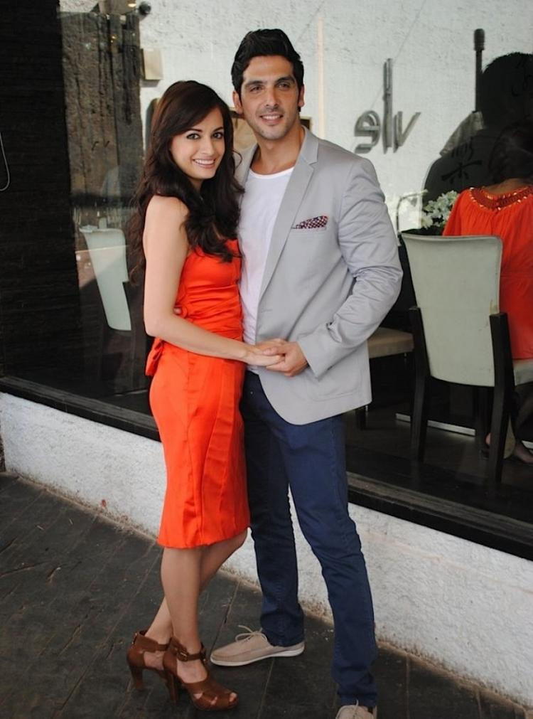 Dia Mirza & Zayed Khan - Launch of Love Breakups Zindagi
