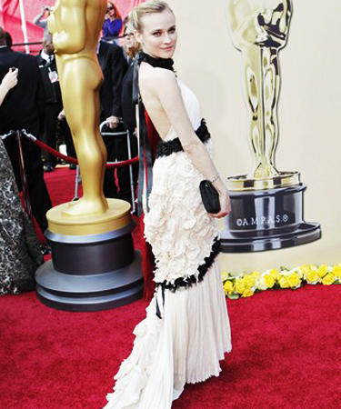 Diane Kruger from Inglorious Bastards at Oscars 2010