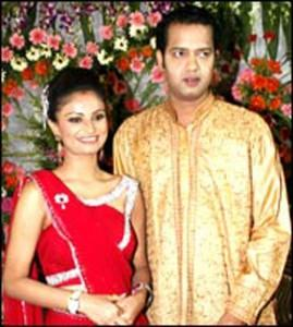 Dimpy Mahajan and Rahul Mahajan Gorgeous Photo