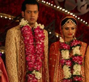 Dimpy Mahajan and Rahul Mahajan Wedding Photo