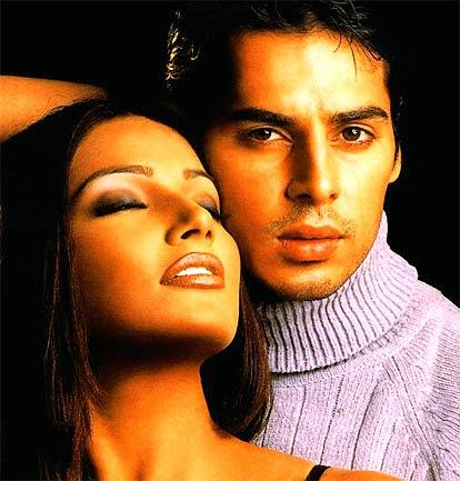 Dino Morea and Bipasha Latest Romancing Pic