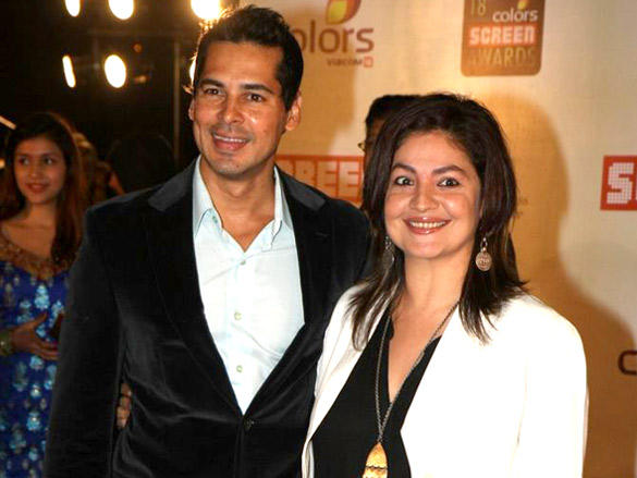 Dino Morea with Pooja Bhatt at 18th Annual Colors Screen Awards 2012