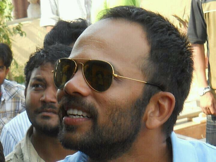Director Rohit Shetty On The Sets of Bol Bachchan