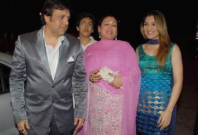 Dr PK Agarwals Daughter Wedding Photos Govinda With Family