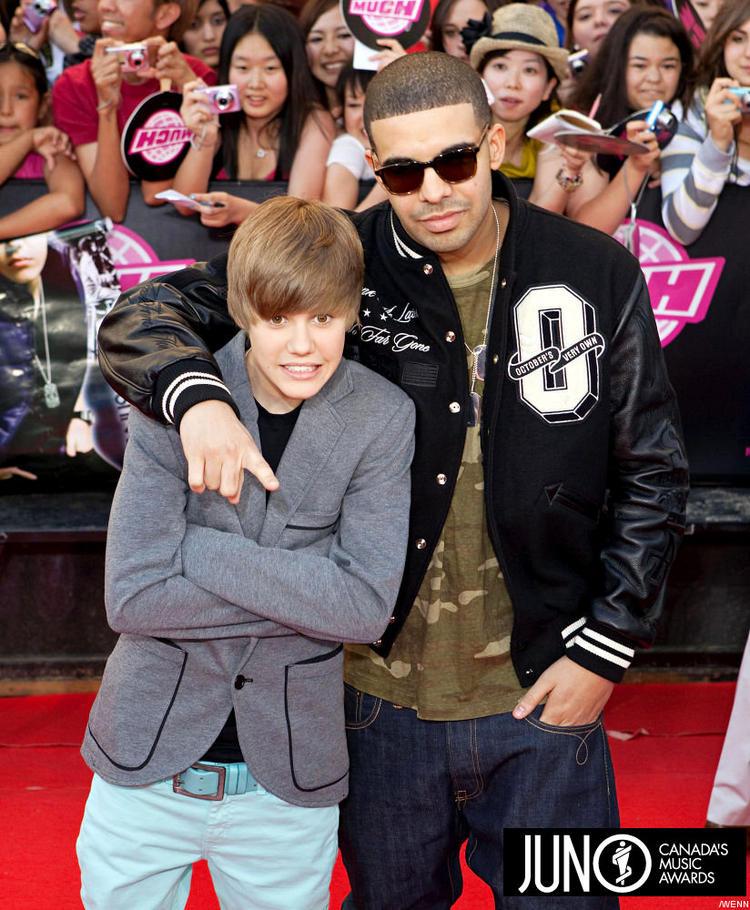 Drake and Justin Bieber Public Photo