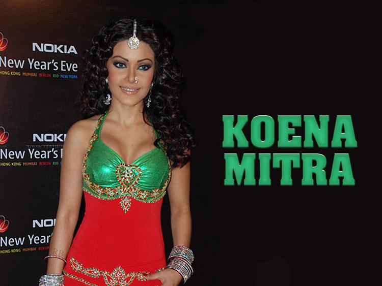 Dusky Beauty Koena Mitra Wallpaper