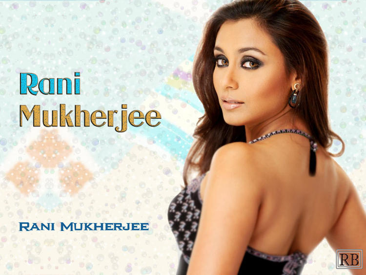 Dusky Beauty Rani Mukherjee Wallpaper